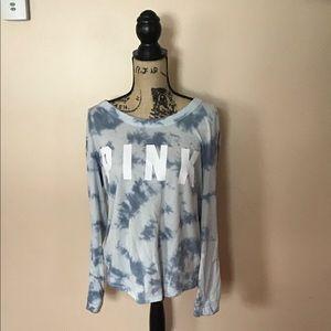PINK Tie Dye L Shirt